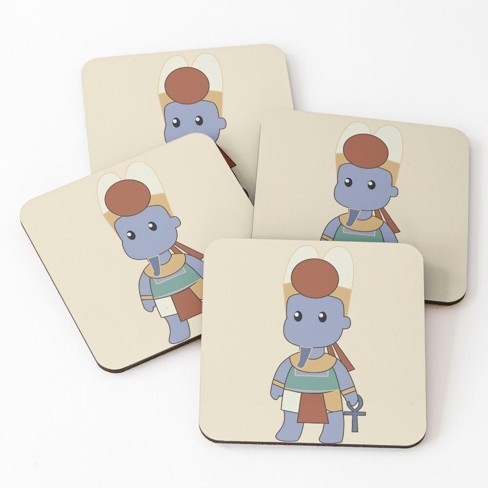 Tiny Amun Coasters (Set of 4)