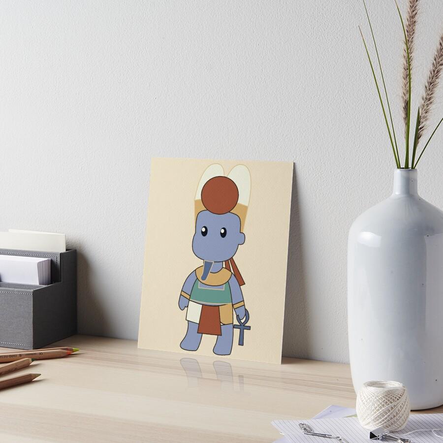 Tiny Amun Art Board Print