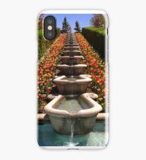 Tulip Festival Fountains iPhone Case/Skin