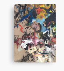 Non-Representational Art Hurts My Brain Canvas Print