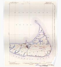 Massachusetts  USGS Historical Topo Map MA Nantucket 352877 1901 62500 Poster