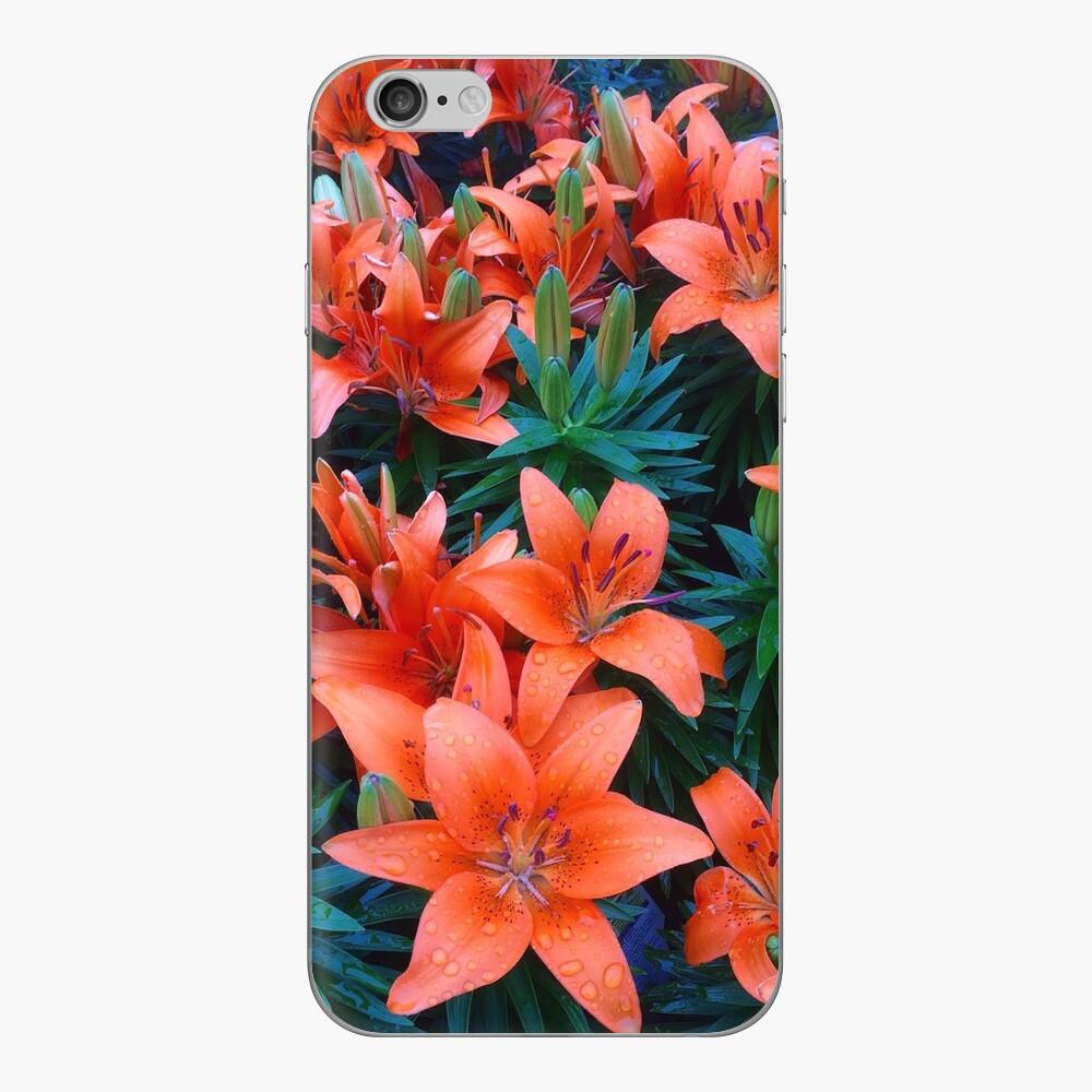 Asiatische Lillies iPhone-Hüllen & Cover
