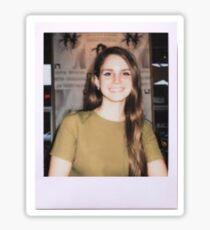 lana del rey polaroid Sticker