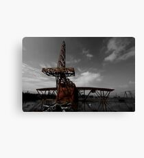 Fire Plane Canvas Print
