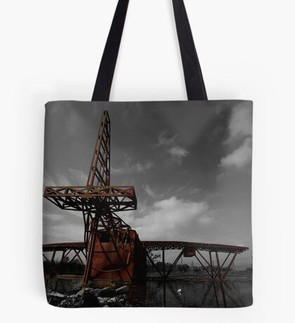 Fire Plane Tote Bag