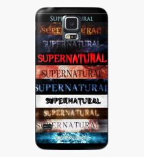 Supernatural intro seasons 1-10 Case/Skin for Samsung Galaxy