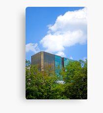 Modern building Canvas Print