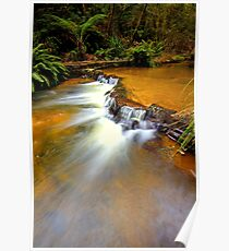 """Copper Cascades"" Poster"