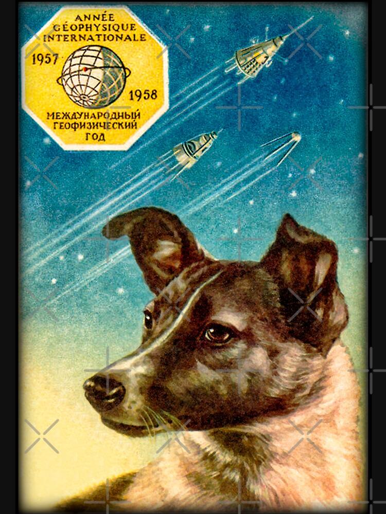 Laika der Sputnik 2 Russischer Raumhund! von DudePal