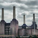 battersea power station by Janis Read-Walters