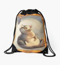 Mr. Eatsalot Drawstring Bag