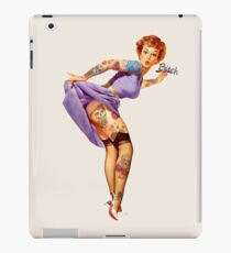 Vinilo o funda para iPad Redhead Pin-up