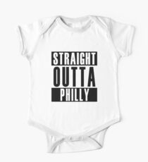 Straight Outta Philly One Piece - Short Sleeve