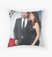 Diane lane and Josh Throw Pillow