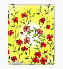 Red Blooms on a Sunshiny Day iPad Case/Skin