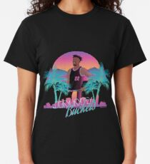 Jimmy Butler 'Buckets' Miami Vice Minimalist Art // T shirt, phone cases, stickers and more Classic T-Shirt