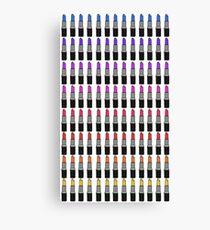 Ombre Lipstick Canvas Print