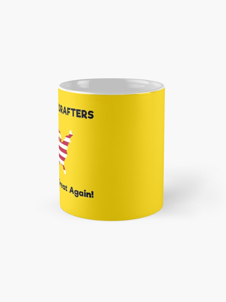 Alternate view of Electronics Drafters MAGA! Mug