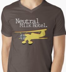 Neutral Milk Hotel - Aeroplane Men's V-Neck T-Shirt
