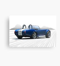 1966 Shelby Cobra Replica 'The Road Ahead' Metal Print