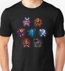 Megaman 1 Robots Unisex T-Shirt