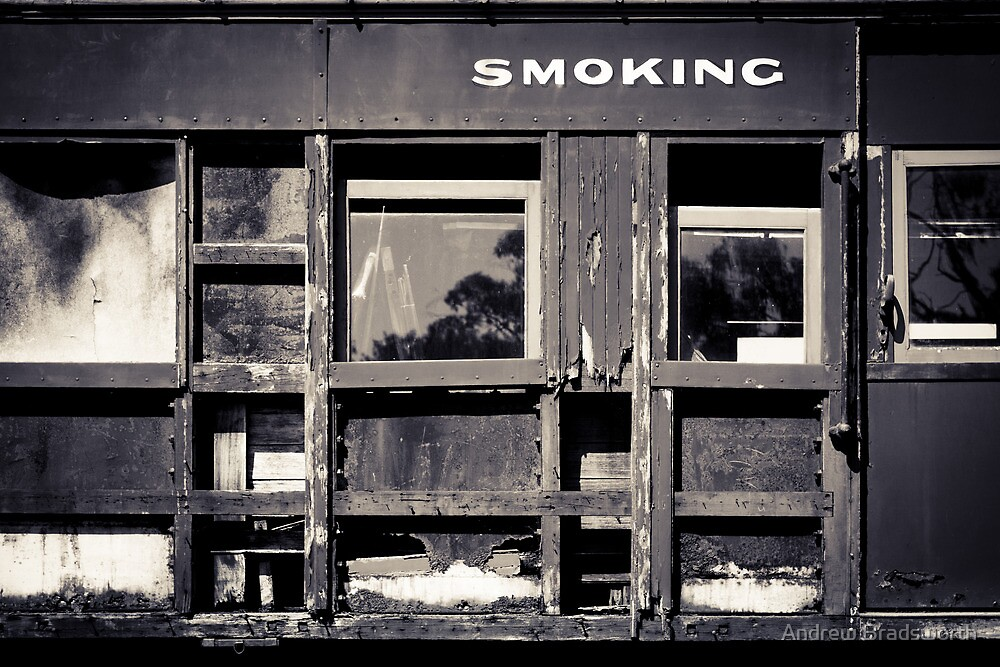 smoking by Andrew Bradsworth