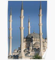 Adana spires Poster