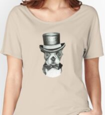 Doggy Vintage-nous Women's Relaxed Fit T-Shirt