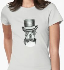 Doggy Vintage-nous Women's Fitted T-Shirt