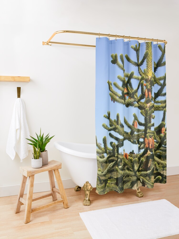 Alternate view of Wollemi Pine - Ancient Tree Shower Curtain