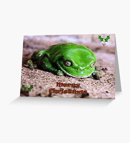 Freddo Frog Christmas greeting Greeting Card