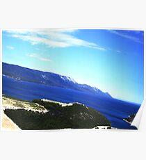 Dubrovnik Coastline Poster