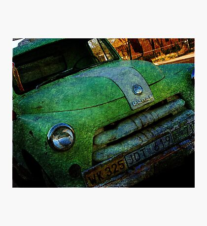 Route 66 Old Dodge Photographic Print