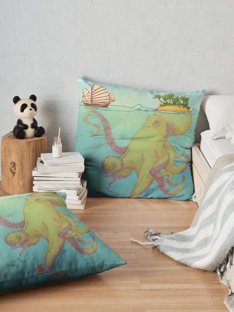 Alternate view of Oct'Island Floor Pillow