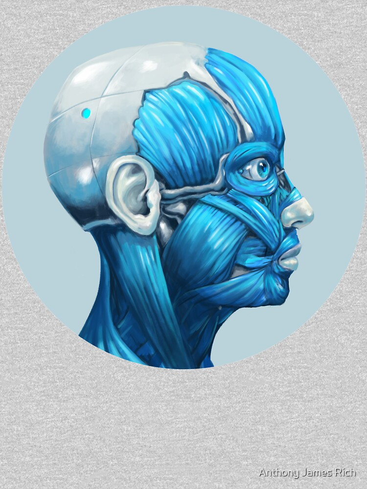 Android Facial Muscles Icon | Digital Illustration by AJRart