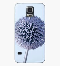 Monochrome - Starry night on the thistle globe Case/Skin for Samsung Galaxy