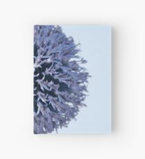 Monochrome - Starry night on the thistle globe Hardcover Journal