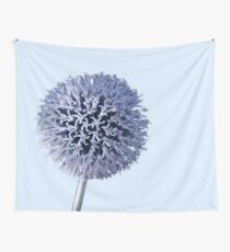 Monochrome - Starry night on the thistle globe Wall Tapestry