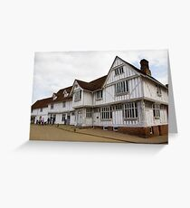 The Guildhall Lavenham Greeting Card