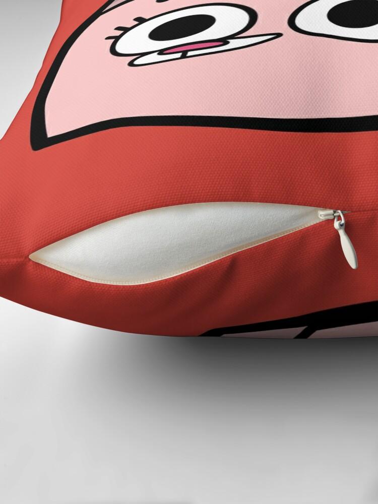 Alternate view of Anais Watterson - The Amazing World of Gumball Boxheadz Throw Pillow