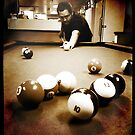 Down At The Pool Hall - 2 by Eric Scott Birdwhistell