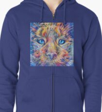 DeepDreamed Zipped Hoodie