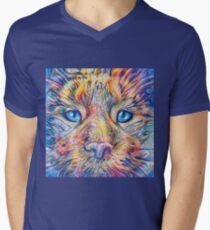 DeepDreamed V-Neck T-Shirt