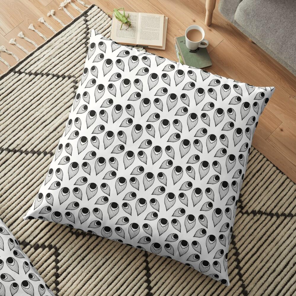 Plume (Patterns Please) Floor Pillow