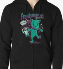 Frankatstein's Monster Pet Zipped Hoodie