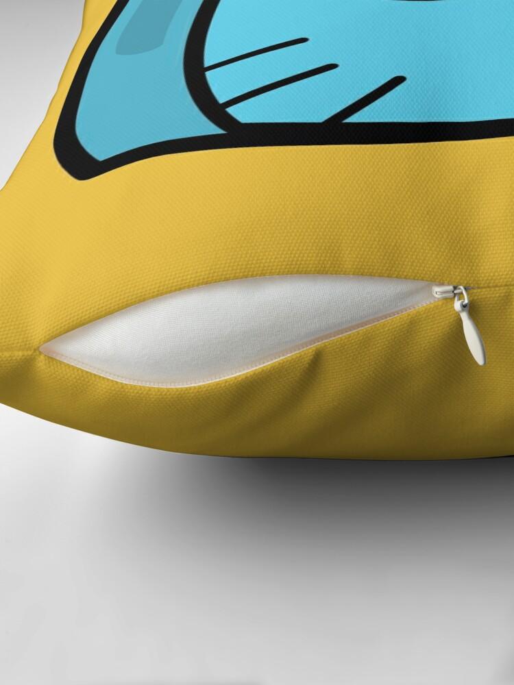 Alternate view of Gumball Watterson - The Amazing World of Gumball Boxheadz Throw Pillow