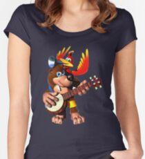Banjo-Kazooie Women's Fitted Scoop T-Shirt