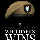 British Special Air Service (SAS) - Who Dares Wins by nothinguntried