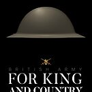 British Army WW1/WW2 Helmet - For King and Country by nothinguntried