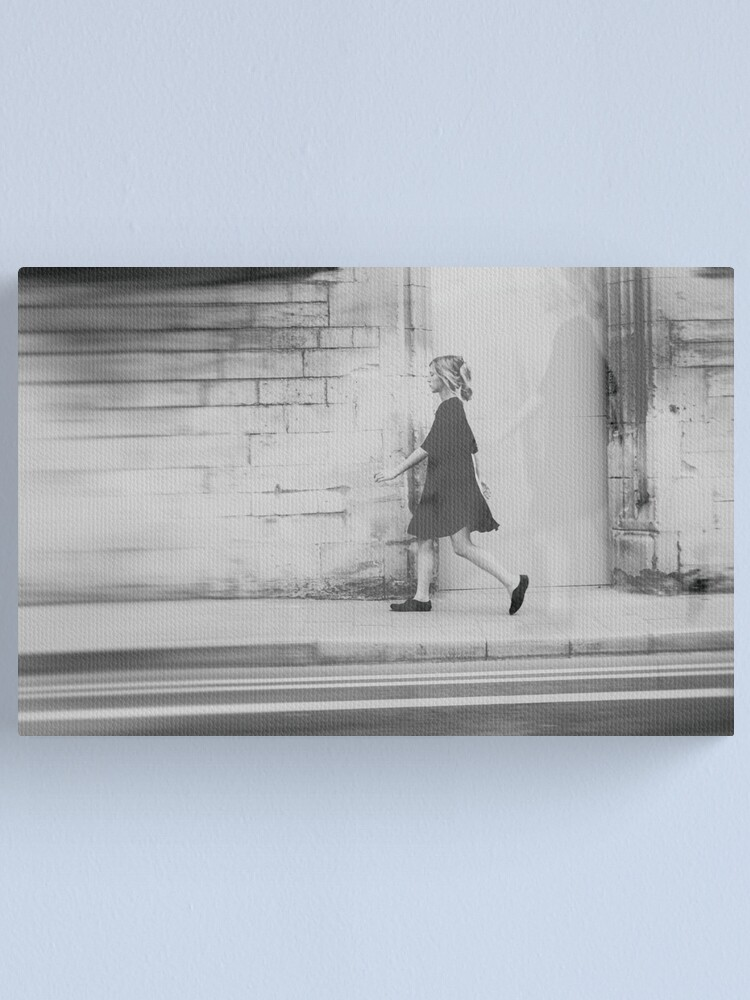 Alternate view of alice rushes by in a dream  Canvas Print